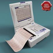 Electrocardiograph Fukuda Denshi 3d model