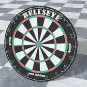 Dart Board High Poly 3d model