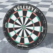 Dart Board High Poly 3d model