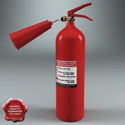 Fire Extinguisher V3 3d model