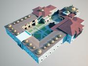 ottoman palace 3d model