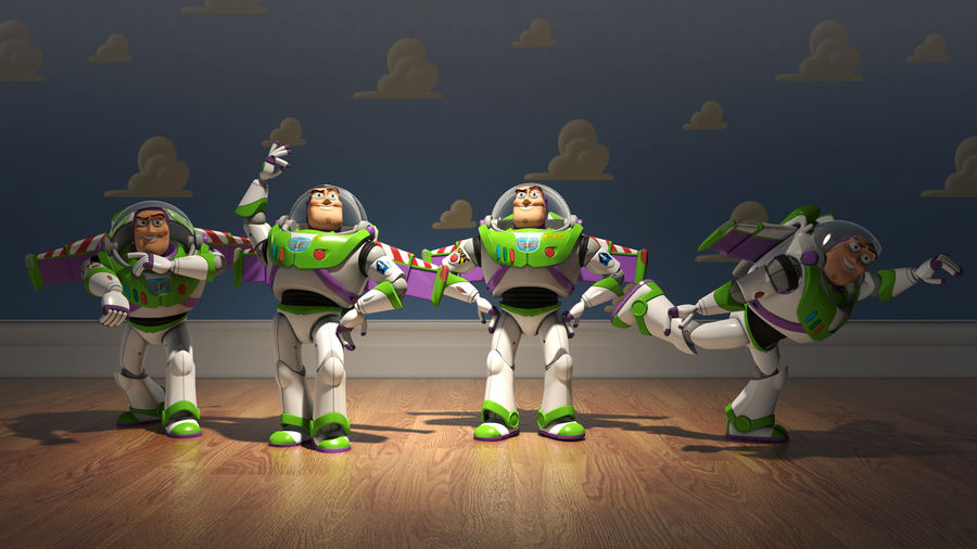 Buzz Lightyear royalty-free 3d model - Preview no. 6