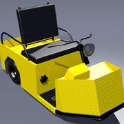 Endüstriyel Bakım Kamyonu 3d model
