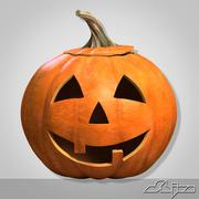 Halloween Pumpkin Head 1 Smile 3d model