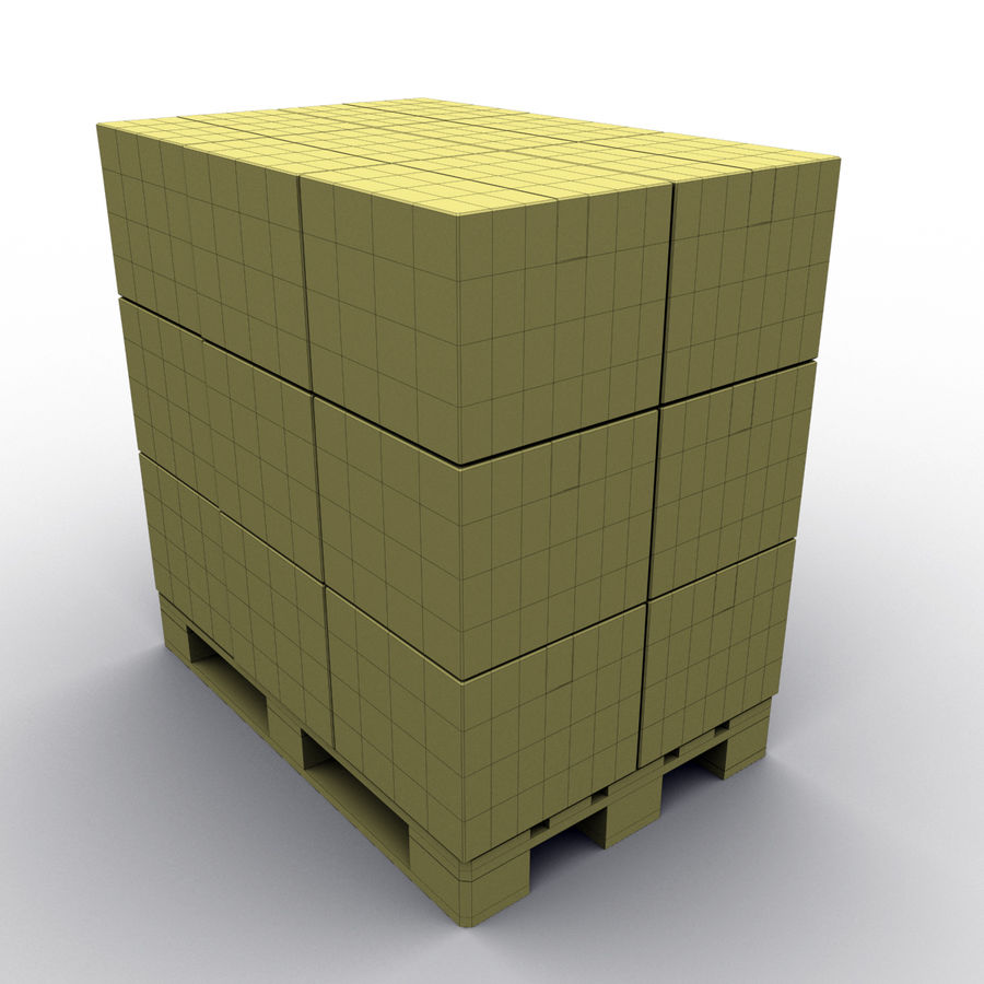 Warehouse royalty-free 3d model - Preview no. 16