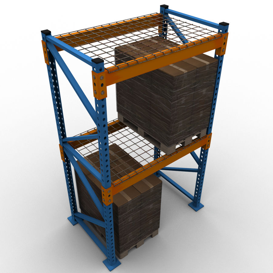 Warehouse royalty-free 3d model - Preview no. 10