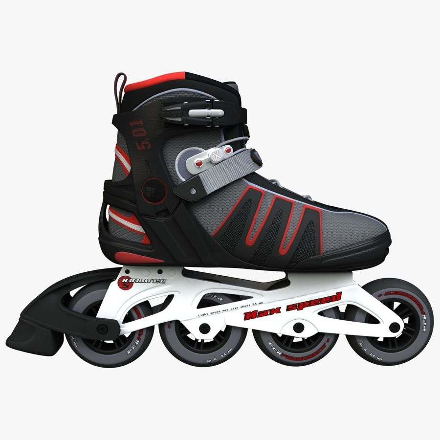 Rollerblades royalty-free 3d model - Preview no. 1
