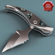 匕首小刀 3d model
