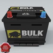 Car Battery V2 3d model