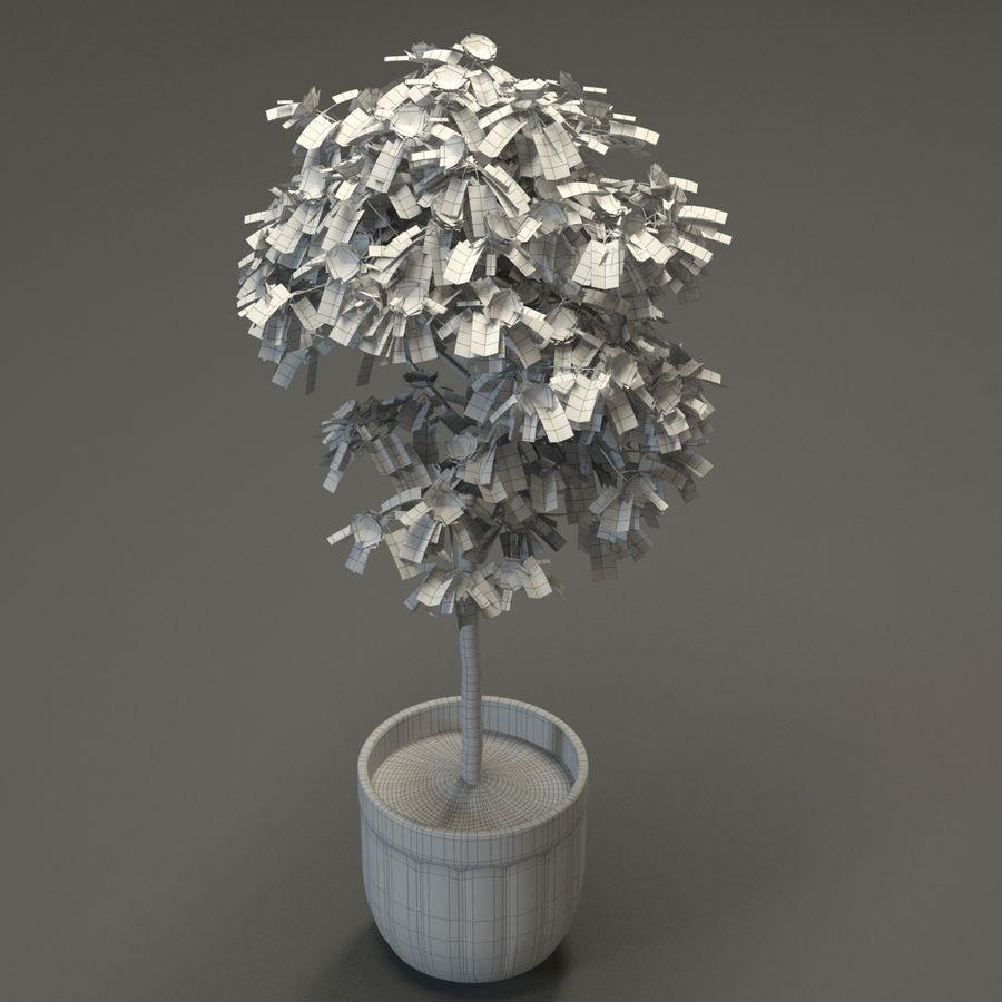 HQ Растительность - Декоративное Дерево royalty-free 3d model - Preview no. 8