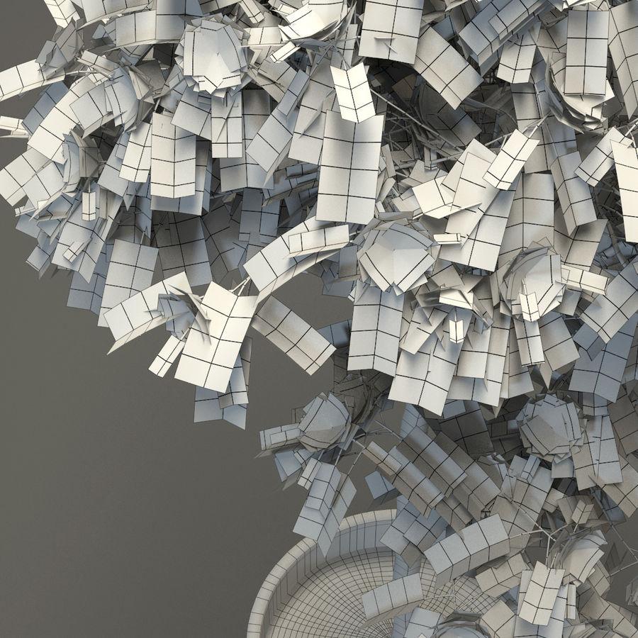 HQ Растительность - Декоративное Дерево royalty-free 3d model - Preview no. 9