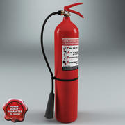 Fire Extinguisher V5 3d model