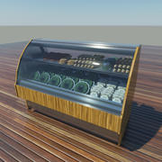 Refrigerated Display Case 3d model