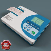 ECG Machine Electrocardiograph CareWell 3d model