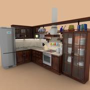 Cocina antigua-2 modelo 3d