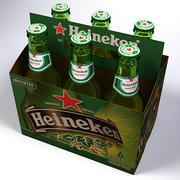 Heineken 6 Pack 3d model