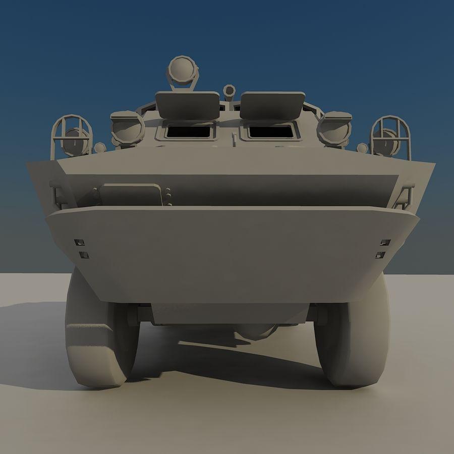 БРДМ 2 советский военный автомобиль royalty-free 3d model - Preview no. 8