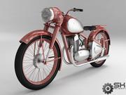 Motosiklet 3d model