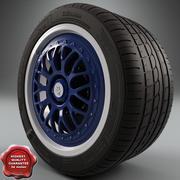 Maserati Wheel 3d model