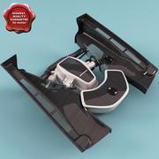 Mclaren Engine 3d model