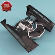 Motore Mclaren 3d model