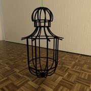 Cage Chandelier 3d model