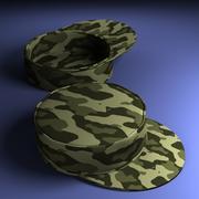 Cappello militare 3d model