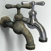 faucet - outdoor 3d model