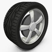 タイヤ 3d model