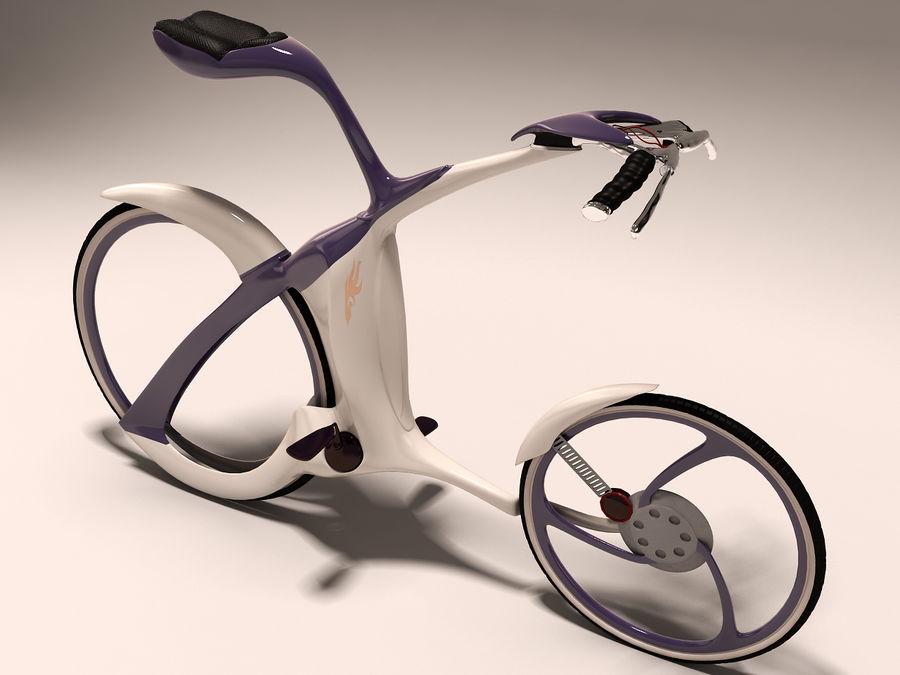 未来派的自行车设计 royalty-free 3d model - Preview no. 1