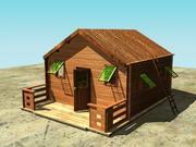 hus 3d model