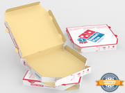 Caixa de pizza 3d model