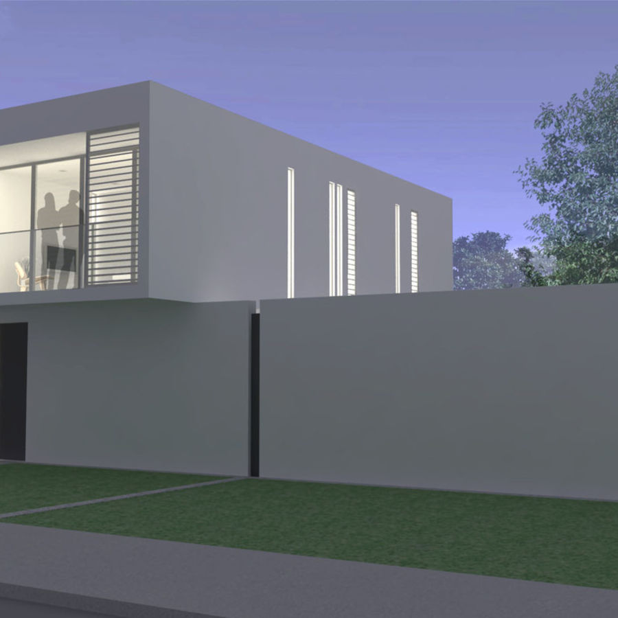 Modern House royalty-free 3d model - Preview no. 12