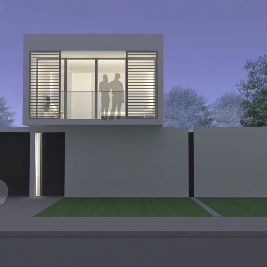 Modern House royalty-free 3d model - Preview no. 11