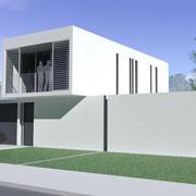 Casa moderna modelo 3d