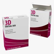 软件盒 3d model