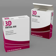 Software Box 3d model