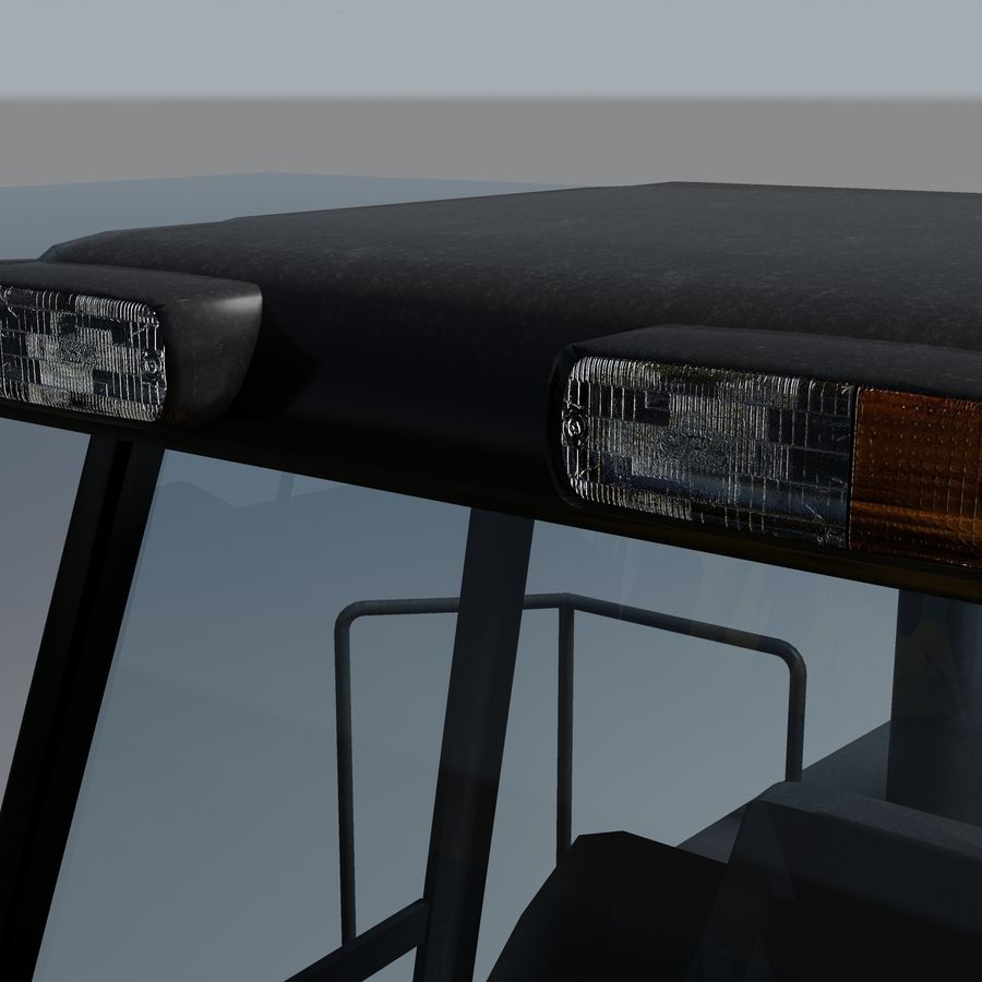 Front End Loader royalty-free 3d model - Preview no. 4