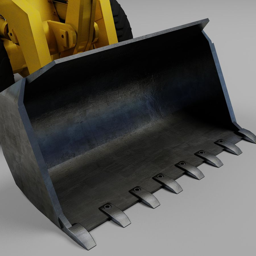 Front End Loader royalty-free 3d model - Preview no. 7