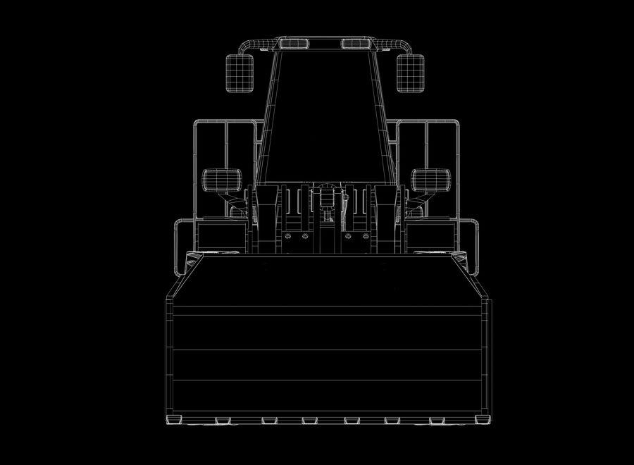 Ładowacz czołowy royalty-free 3d model - Preview no. 11