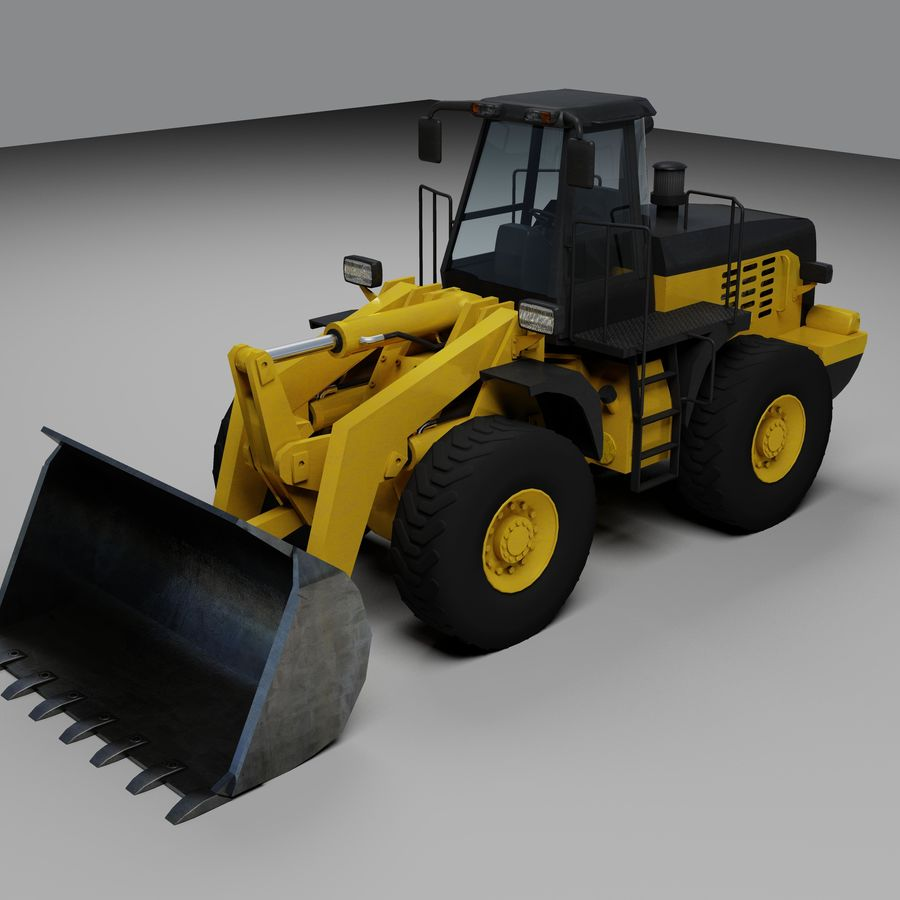 Front End Loader royalty-free 3d model - Preview no. 1