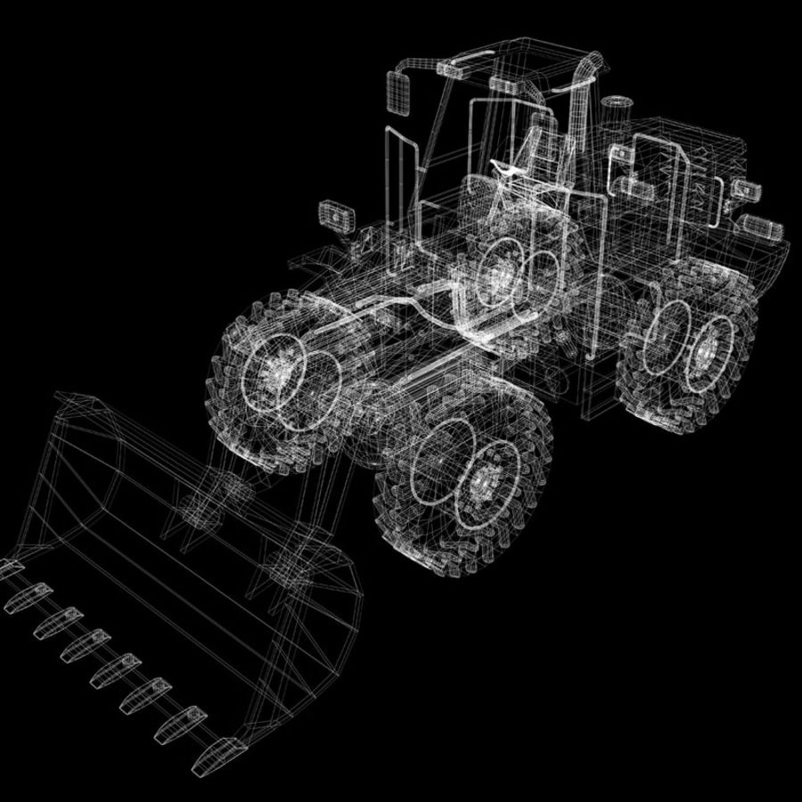 Front End Loader royalty-free 3d model - Preview no. 12