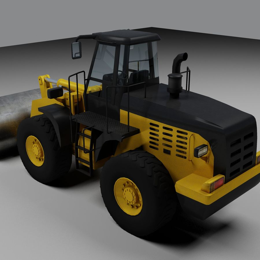Front End Loader royalty-free 3d model - Preview no. 2