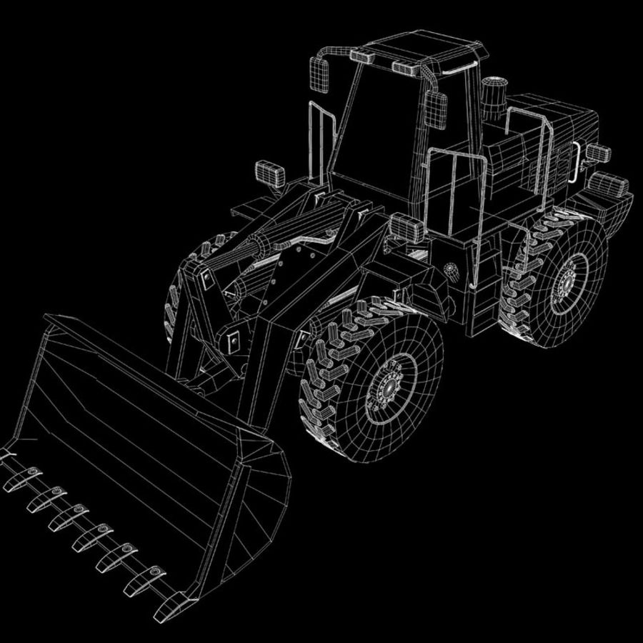 Front End Loader royalty-free 3d model - Preview no. 8