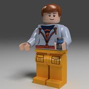 lego man 3d model