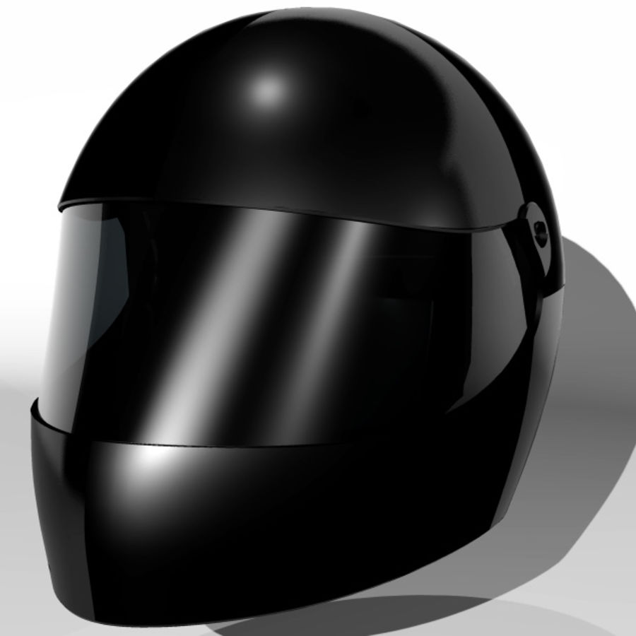 Motorcycle Helmet royalty-free 3d model - Preview no. 1