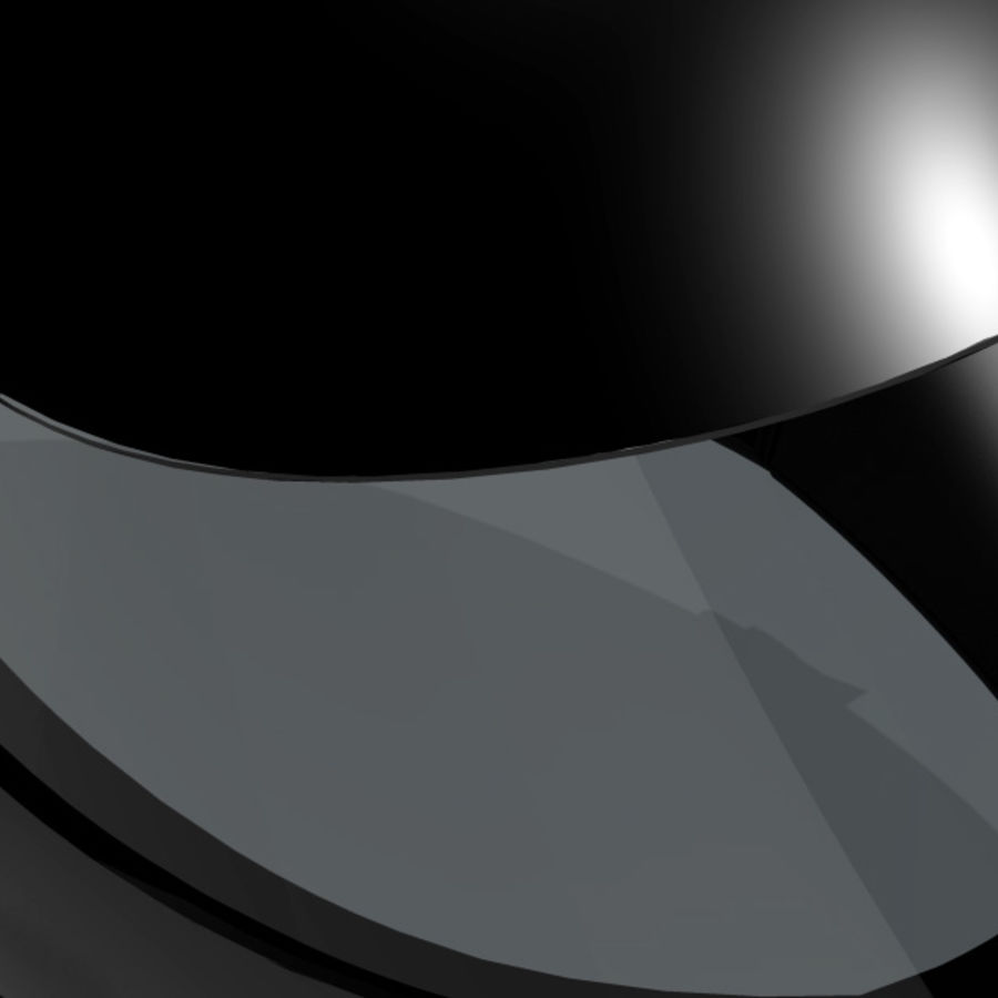 Motorcycle Helmet royalty-free 3d model - Preview no. 10