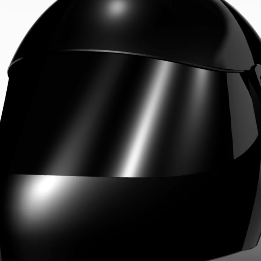 Motorcycle Helmet royalty-free 3d model - Preview no. 6