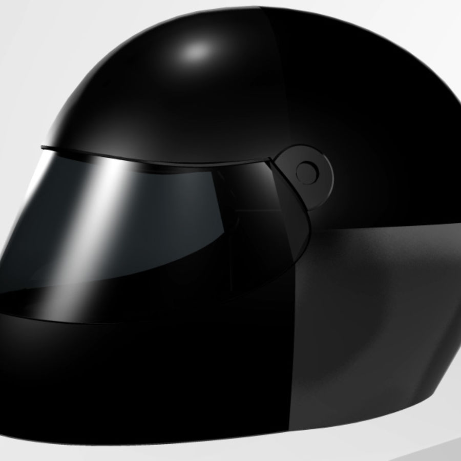 Motorcycle Helmet royalty-free 3d model - Preview no. 9
