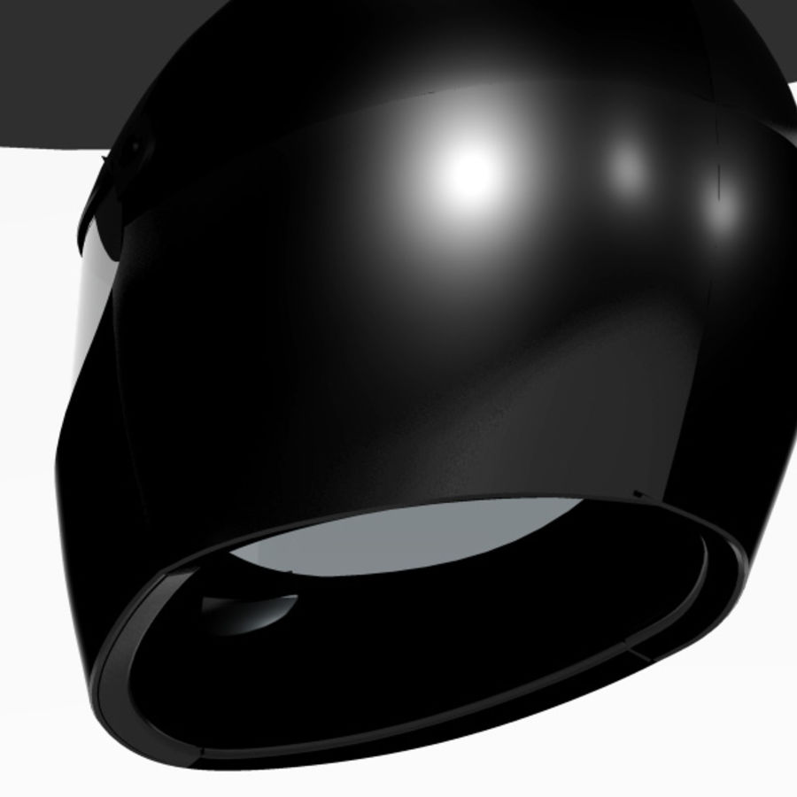 Motorcycle Helmet royalty-free 3d model - Preview no. 4